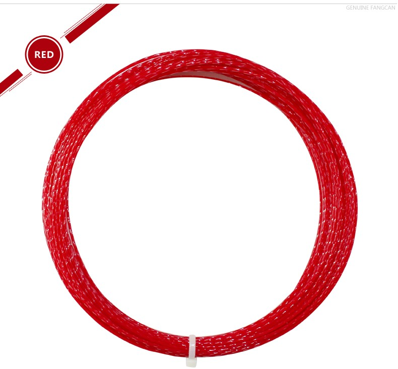 Fangcan high quality unique 1.35mm polyester tennis string for professional player 12m/pc