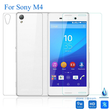 Front + Back Tempered Glass Film for Sony Xperia M4 Aqua Screen Protector on E2303 E2306 E2363 Free Shipping pelicula de vidro
