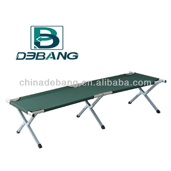 Lightweight Folding Aluminum Camp Bed-- Extremely strong,