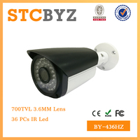 Hight quality 700TVL sensor bullet outdoor color ccd camera