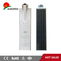 Eson IP66 98w/300w/9m Solar Light Street With Solar Panel