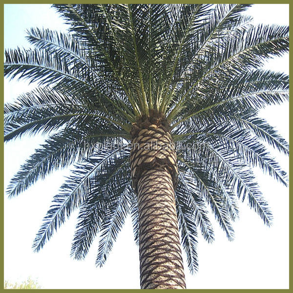 Big artificial fake palm tree leaves for outdoor and indoor trees