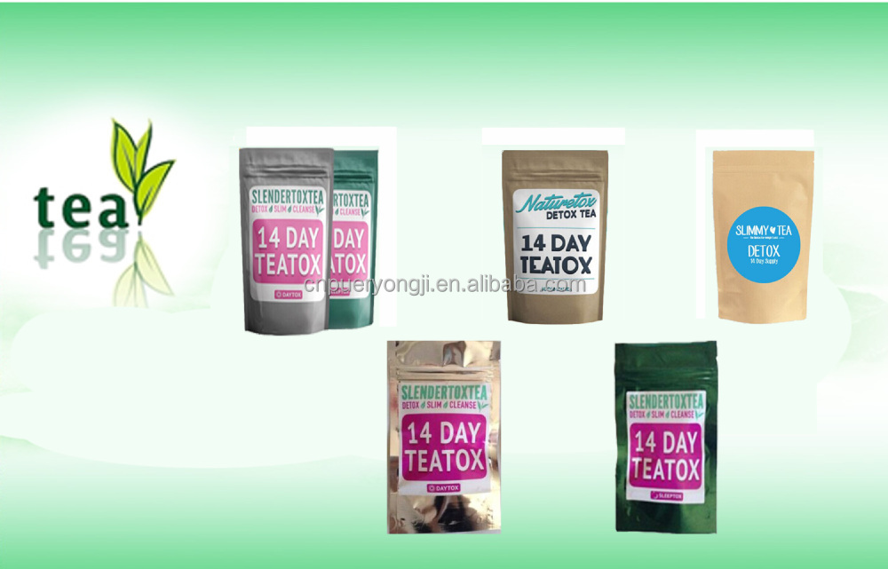 Custom Service Herb Fit Tea Detox 14 Day Cleanse Diet