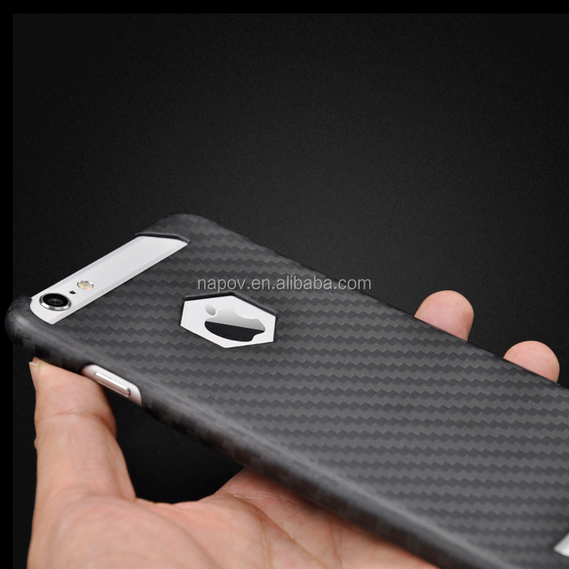 cf113a6f3e4 Custom Glossy Carbon Fibre Mobile Phone Bags Carbon Protective Case For iPhone  6s plus