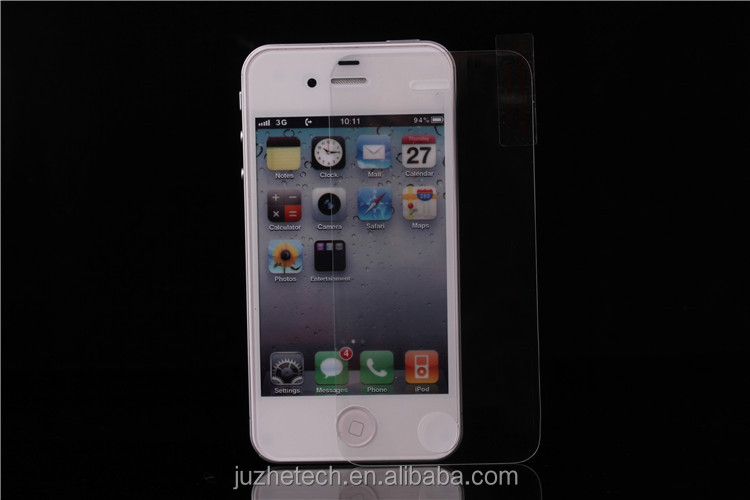 Factory supply, free sample for tempered glass screen protector Iphone4/4s