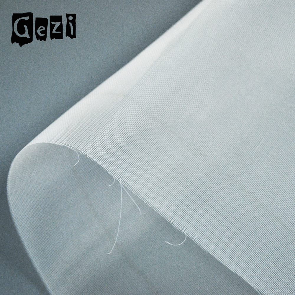 Gezi ( factory offer) Black polyester nylon screen printing mesh for printing