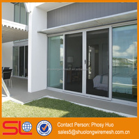 Stainless steel security screen mesh door,insect protection window screen