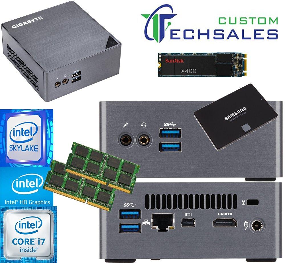Get Quotations · Gigabyte BRIX s Ultra Compact Mini PC (Skylake) BSi7H-6500  i7 1TB M 01118304fd26