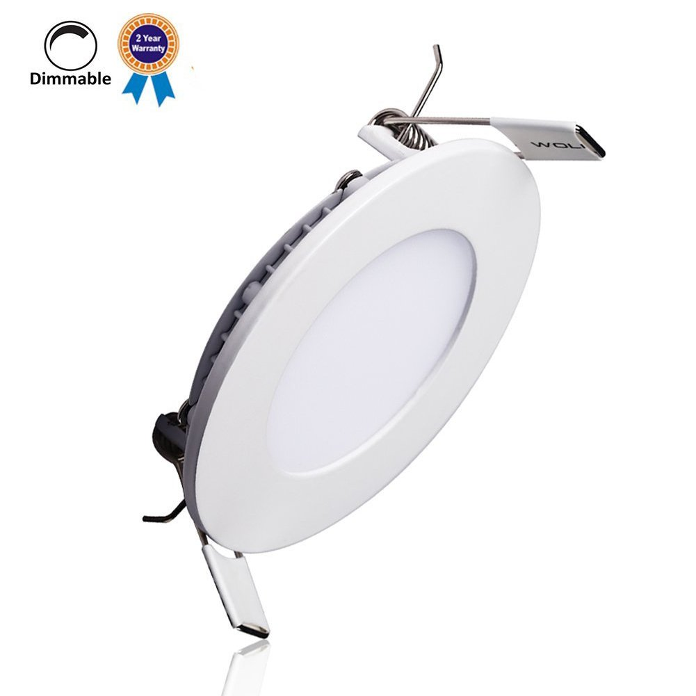 Downlights 2pcs New Design 6w 12w 18w Dimmable Remote Control Adjustable Cct Frameless Square Indoor Lighting Led Panel Light