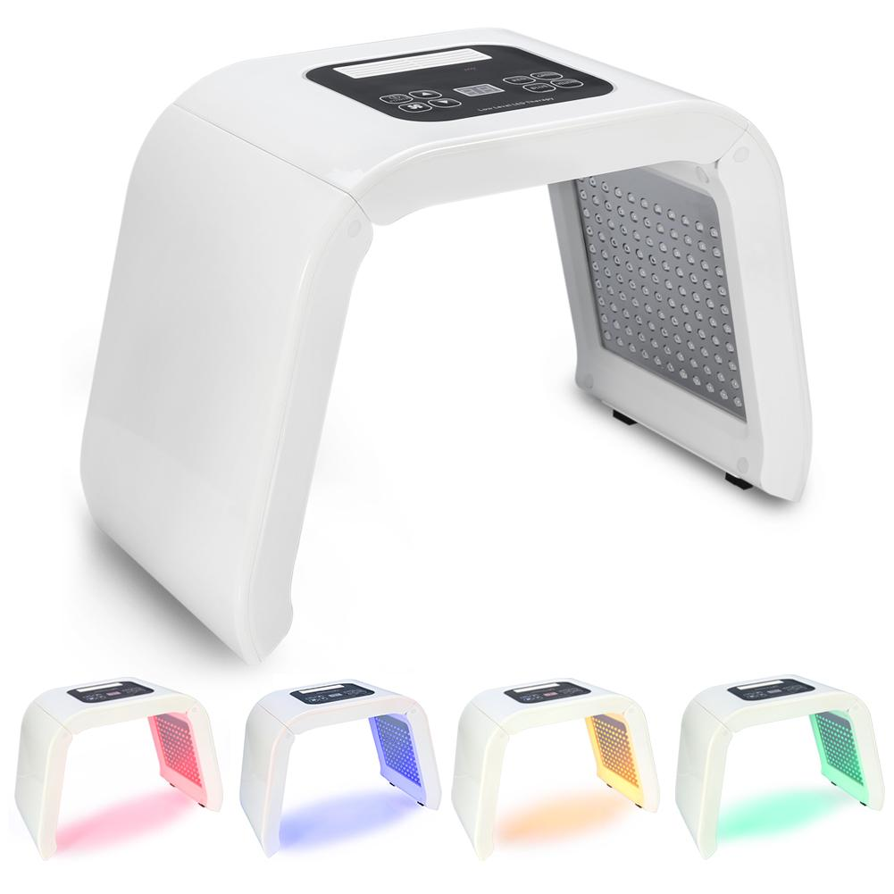 Best Verkopende Producten PDT 4 Kleuren LED Licht Fotodynamische Facial Huidverzorging Verjonging Photon Therapie Machine US Plug