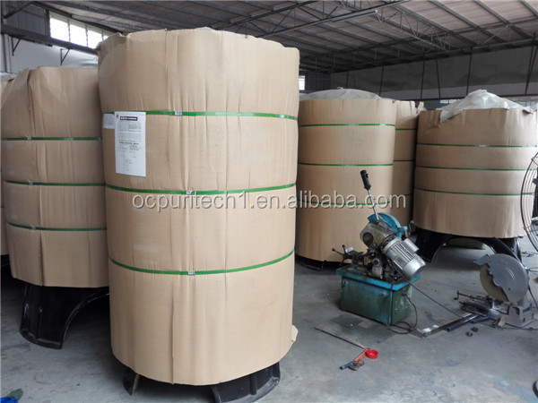 large scale industrial fiber glass tank for quartz sand filter and carbon filter