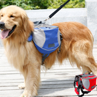 Waterproof Pet Outdoor Dog Backpack Harness Dog Saddle Bag
