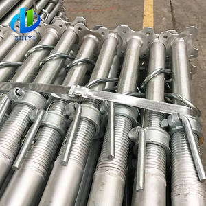 paited and galvanized adjustable steel building support column