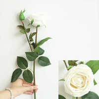 High-end simulation silk flower for photography props real touch artificial flowers 3d phalaenopsis orchid vogue Flower