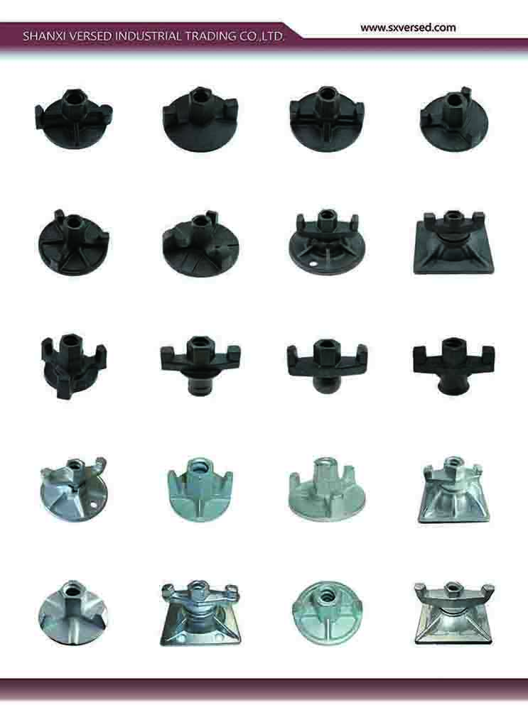 peri channel formwork system components tie rod two wings wing nut