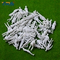 1 50 white figure for architectural building model materials