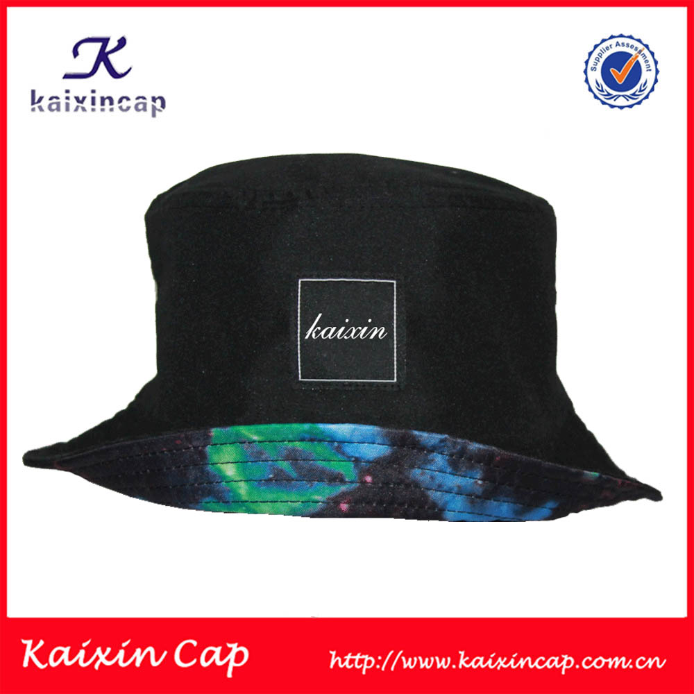 Cheap Cool Custom Printed Mens Floral Bucket Hats and Caps