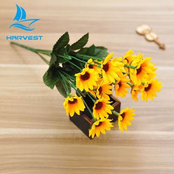14 head fake sunflower real touch decorative silk flowers artificial 14 head fake sunflower real touch decorative silk flowers artificial mightylinksfo