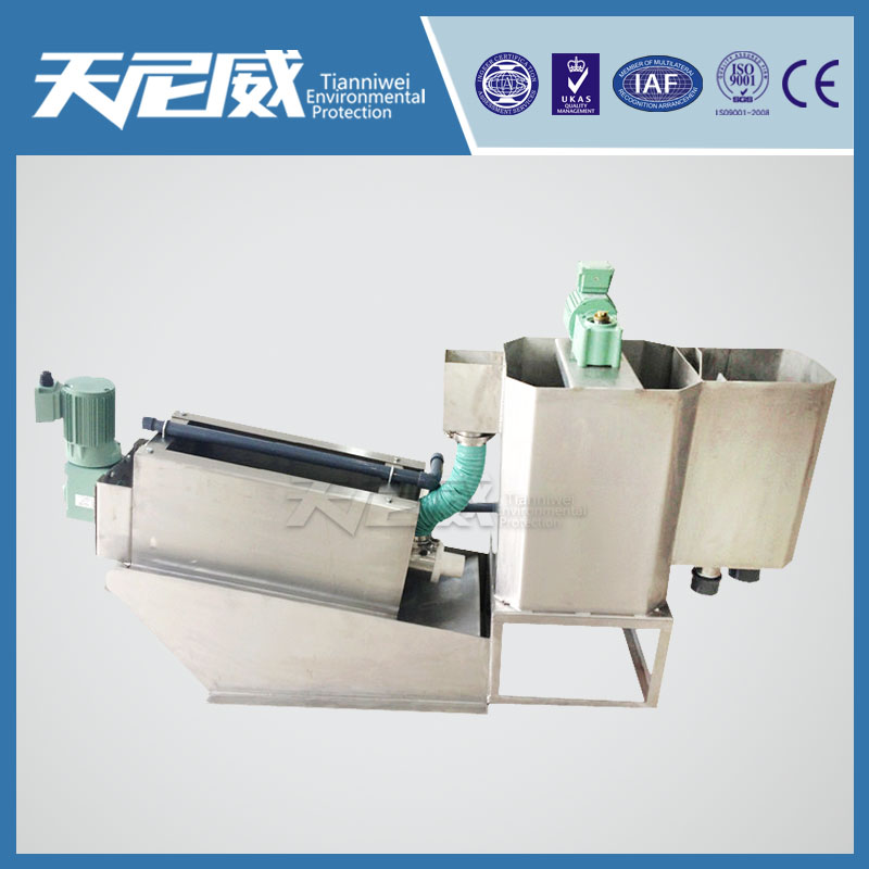 Washing sand sludge dewatering machine equipment