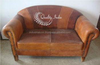 2 Seater Leather Sofa Round Back & 2 Seater Leather Sofa Round Back - Buy Modern Leather SofaRound ...