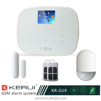 host low- voltage prompt home guard gsm alarm system with CE RoHS approved