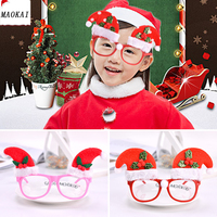 Novelty Christmas Ornaments Glasses Birthday Party Creative Toy Kids Children's Gifts