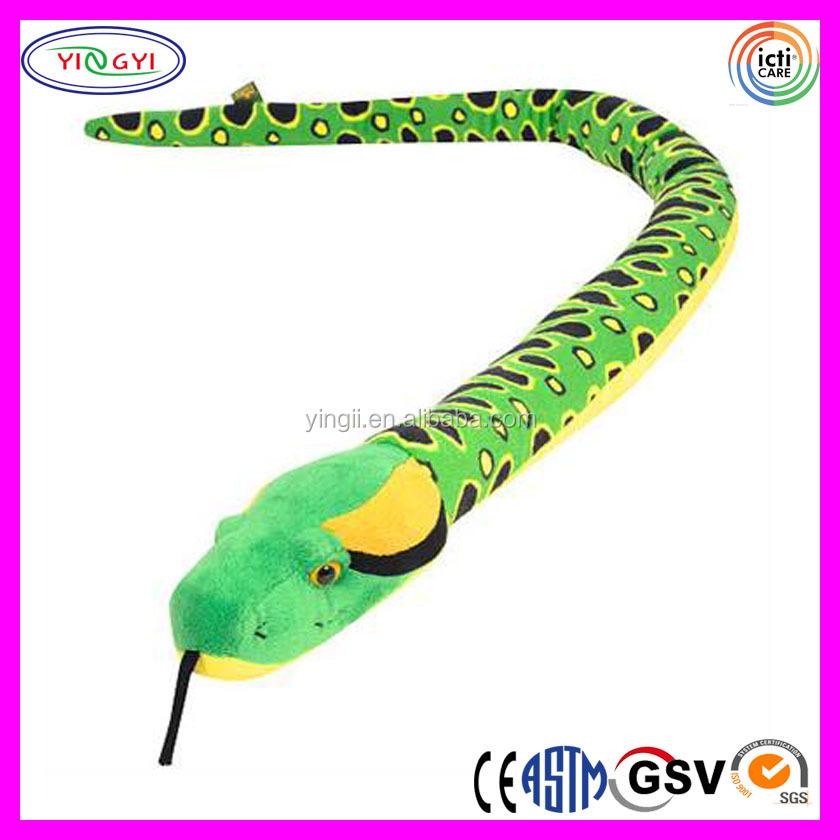 D532 Verde Suave Juguetes Serpiente Peluche Sublimación Impreso ...