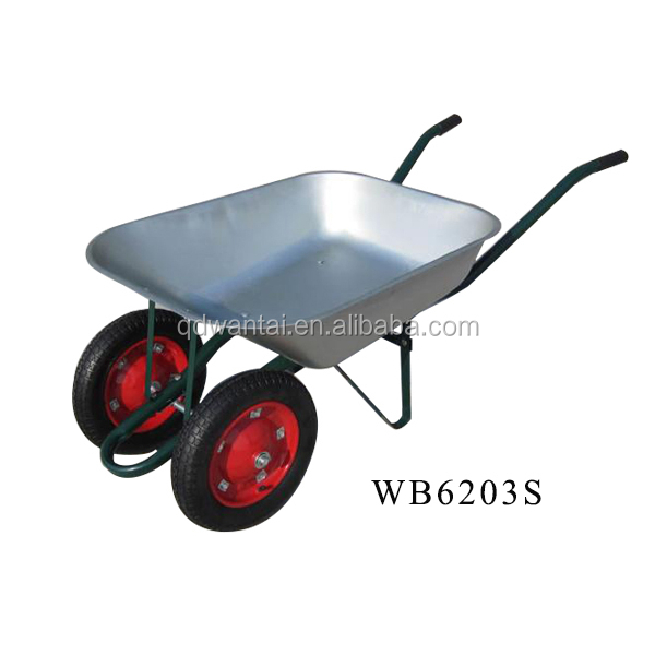 WANTAI Industrial heavy duty wheelbarrow WB6203S price construction tools wheel barrow