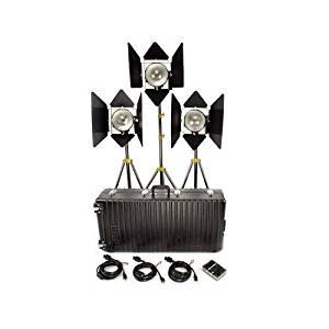 Lowel DP 3 Light Kit, 3000w Quartz Lighting Outfit