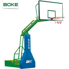 Promotional custom acrylic glass backboard basketball hoop stand