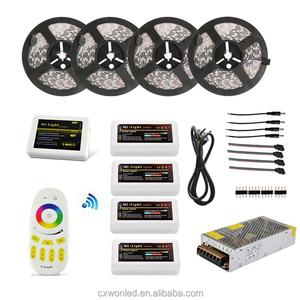 RGB/ RGBW Wifi remote Controller Power supply 20M 5050 LED Strip wifi in kit