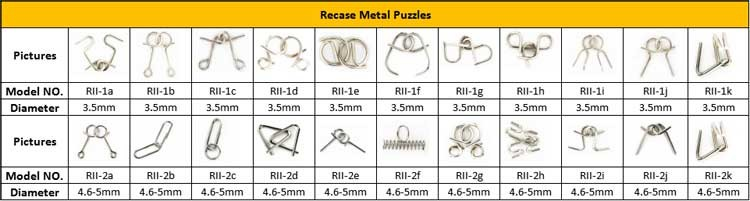 Metal Ring Puzzle Solution,Handheld Puzzle Game Metal Puzzles ...