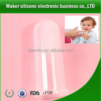 silicone child tooth brush