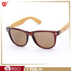 PC frame bamboo temple sunglasses, custom bamboo and wooden sunglasses