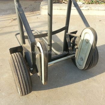 Rail Wheel Stair Climbing Commerical Hand Truck Cart Dolly