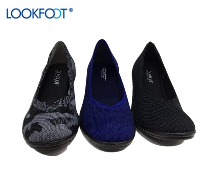 da28aba3e0ba Lookfoot классические Женская обувь для офиса удобная женская обувь женская  повседневная обувь