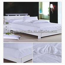 hot sales hotel bed linen used fitted bed sheet, bed skirt with good quality and favorable price