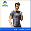 Hot Sales 2017 New Super Hero Iron Man T Shirt Mens Sports Quick Dry Fitness Clothing compression shirt