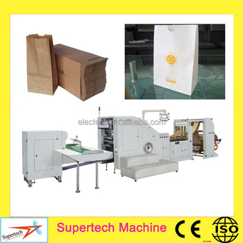 Machines To Make Paper Bags/kraft Paper Cement Bag Making ...