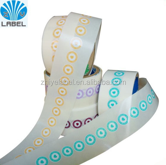 Cheaper price samll round size label stickers printing with roll package labels with glossy laminated