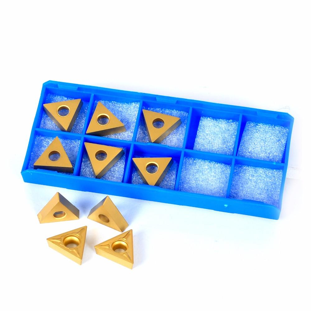 Good abrasion resistance high efficiency carbide inserts for cnc turning tools