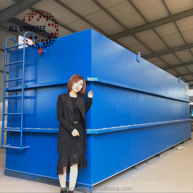 containerized mbr wastewater treatment plant for laundry wastewater