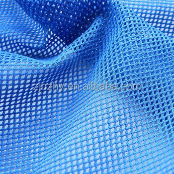 Blue Colored Big Hole Features Cool Mesh Fabric For Chair