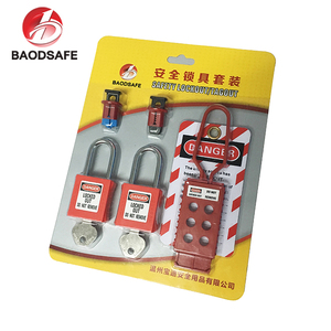 BAODI China Supplier Electric Hasp Circuit Breaker Lockout Safety Locks Kits