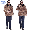 Top sale winter camouflage military army uniform pant shirt new style hunting clothing