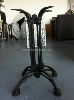 Metal Furniture Cast Iron Vintage Marbale Table Top Table Legs (F21)
