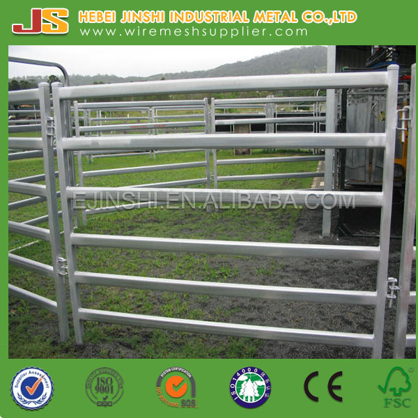 Galvanized Metal Fence Panels for sheep, Cattle, Horse and Livestocks