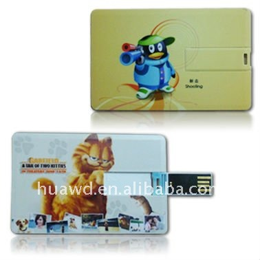 Wholesale Business Card Usb Flash Drive Usb Flash Memory 4 GB