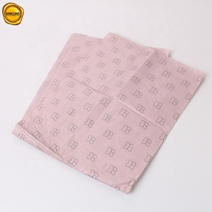 Sinicline Lovely Pink Custom Logo Cosmetic Packaging Eyeshadow Box Paper Tissue