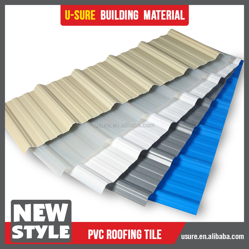 Color Corrugated Pvc Plastic Roof Sheet Buy Pvc Plastic